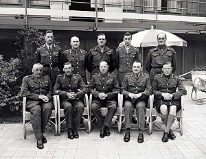 First Canadian Army - Image: 1st Canadian generals