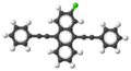 2-Chloro-9,10-bis(phenylethynyl)anthracene-3D-balls.png