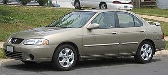 Nissan Sentra - Nissan Sentra (B15, 2000-2003)