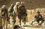 20020602 - 101st Airborne Division soldiers in Afghan village near Pakistani border.jpg