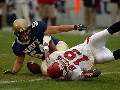 2004 Rutgers-Navy game fumble.jpg