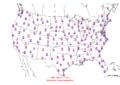 2006-04-25 Max-min Temperature Map NOAA.png