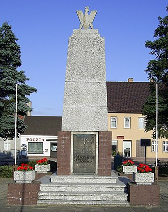 Raid on Fraustadt - Monument to defenders of Poland's sovereignty in Święciechowa