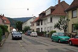 Viktoriastraße in Heidelberg