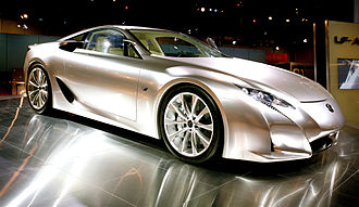Automotive industry in Japan - A concept vehicle by Lexus