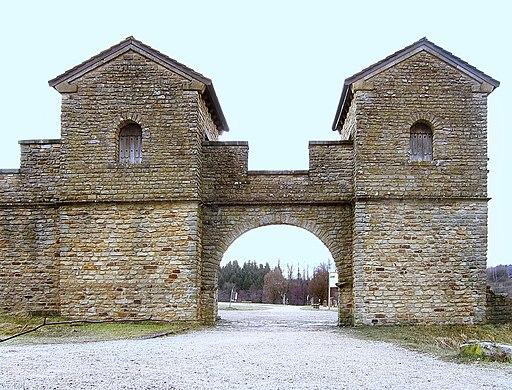 Welzheim Ostkastell, Obergermanisch-Raetischer Limes (UNESCO-Welterbe in Baden-Württemberg)