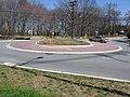 2008 03 20 - Whiskey Bottom Rd @ All Saints Rd - Roundabout 3.JPG