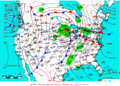 2009-02-10 Surface Weather Map NOAA.png