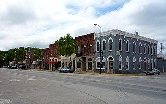 Chatfield, Minnesota - Main Street.