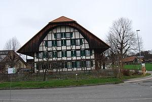 Rubigen - Half-timbered house in Rubigen