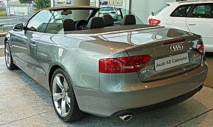 Audi A5 - Cabriolet (pre-facelift)