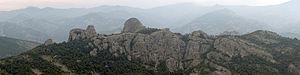 Rhodope (regional unit) - Image: 20110612 Thrakika Meteora Iasmos Panorama 1