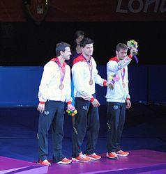2012 Summer Olympics Men's Team Table Tennis Final 3.jpg