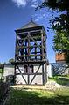 20130707 24686 7 8 tmEnhCr=Łomnica - drewniany kosciół z 1770 r dzwonnica.jpg