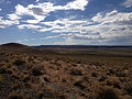 2014-07-18 16 31 41 View west-northwest from the north lip of the Lunar Crater, Nevada.JPG