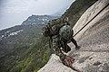 2014. 4. 28 특전사 산악극복훈련(Mountianeering Traning of ROK Special Warfare Force) (14090674723).jpg