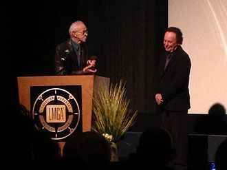 Location Managers Guild Awards - Billy Crystal presents Haskell Wexler the 2014 LMGA Humanitarian Award