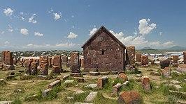 2014 Prowincja Gegharkunik, Cmentarz Noratus (03).jpg
