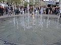 2014 Sechseläutenplatz-'fäscht' - Springbrunnen 2014-04-26 18-01-49 (P7700).JPG