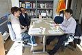 2015년 4월 21일 서울특별시 강북구 수유동 연두스튜디오 시민안전파수꾼 교재 관련 회의 김성민, 이주한, 김준철 DSC09351.JPG