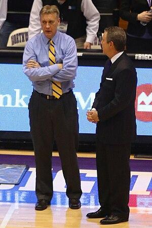 Jeff Meyer (basketball) - Meyer (left) in 2015