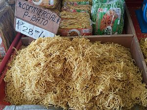 Bato, Camarines Sur - Bato noodles originated from this town.