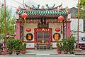 2016 Malakka, Chińska kaplica na rogu ulic- Jalan Tokong i Jalan Portugis (02).jpg
