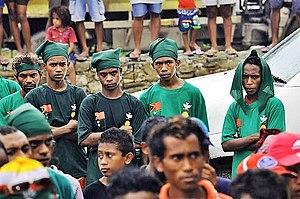 Kmanek Haburas Unidade Nasional Timor Oan - Image: 2017 03 15 Maliana Präsidentenwahlkampf Khunto