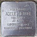 2017 07 16 Stolpersteine Kerken Mendel Adele.jpg