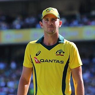 Josh Hazlewood Australian cricketer