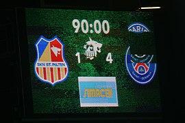 20180912 UEFA Women's Champions League 2019 SKN - PSG scoreboard 850 5412.jpg