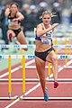 2018 DM Leichtathletik - 100-Meter-Huerden Frauen - Louisa Grauvogel - by 2eight - DSC7488.jpg