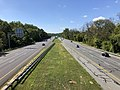 2019-09-03 11 10 28 View south along U.S. Route 29 (Columbia Pike) from the overpass for the Lake to Lake to Lake Trail in Columbia, Howard County, Maryland.jpg