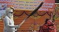 2019 Feb 04 - Kumbh Mela - Portrait 31 - Naga Baba Blesses Lady.jpg