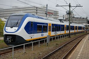 NS Sprinter Lighttrain - A 4-car 2400 SLT in Utrecht