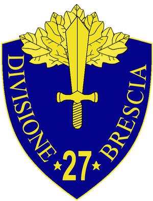 27th Infantry Division Brescia - 27th Infantry Division Brescia Insignia
