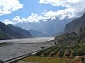 2 Grain Fields and Apple Orchards on Gandak also called Kali Gandaki River Nepal.jpg