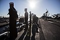 31st MEU Marines man the rails aboard the USS Bonhomme Richard (LHD-6) 150625-M-CX588-032.jpg