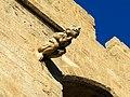 367 Torres dels Serrans (València), cara sud, gàrgola.jpg