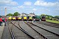 37521, 31466 33108, D9009, 55019 &18000 - Didcot Railway Centre (8864366366).jpg
