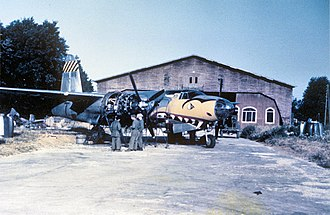 557th Flying Training Squadron - 387th Bombardment Group B-26 Marauder