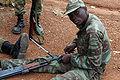 3rd Company, Beninese Army soldier on range at Bembèrèkè 2009-06-12.JPG