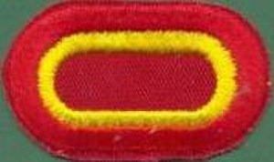 407th Forward Support Battalion - Image: 407th Brigade Support Battalion Parachutist Badge Bacground Oval