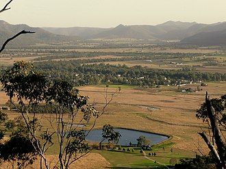 Broke, New South Wales - View of Broke from nearby hills