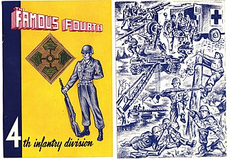 Ed Seeman - Book put together by Ed Seeman c. 1953, The Famous Fourth, 4th Infantry Division.