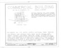50-52 North Commercial Street (Commercial Building), Mobile, Mobile County, AL HABS ALA,49-MOBI,145- (sheet 1 of 9).png
