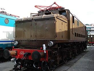 FS Class E.626 - An E.626 in the National Museum of Transportation at La Spezia
