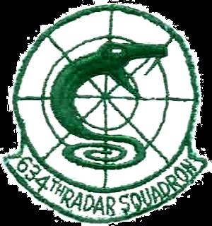 634th Radar Squadron - Emblem of the 634th Radar Squadron