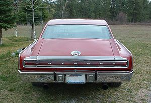 Dodge Charger (B-body) - 1967 Charger NASCAR Spoiler