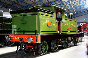 2-2-4T - NER 66 Aerolite is an example of a 2-2-4 locomotive